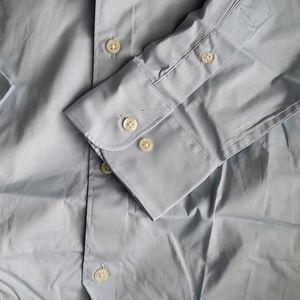 Merona Shirts - Merona Baby Blue Button Down Dress Shirt